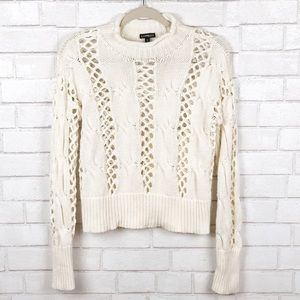 Express| Long Sleeve Knitted Sweater Size M